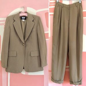 90s DKNY Jacket and Pant Suit